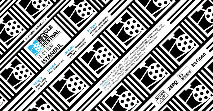 """Bicycle Film Festival"" 18-21 Eylül'de İstanbul'da"